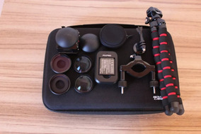 Camera Kodak Pixpro Sp360 4k + Kit Completo Com Acessórios.