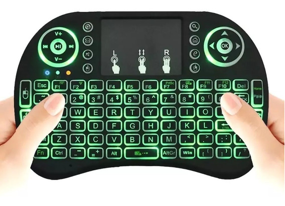 Mini Teclado Inalambrico Bluetooth Portátil Tv Pc Keyboard