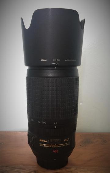 Lente Nikon Ed Af-s Nikkor 70-300mm F/4.5-5.6 G Vr - Usada
