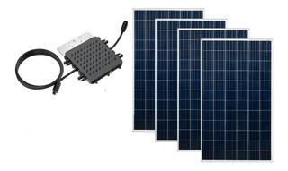 Kit Gerador Sistema Solar Micro Inversor 1300w Elgin 4p 340w