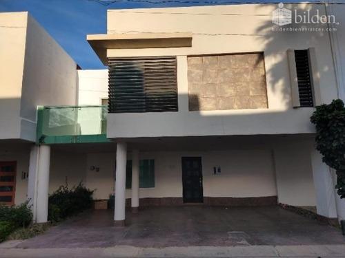 Casa Sola En Renta Fracc. Alexa Residencial Durango