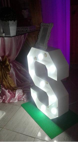 Letra Con Luces,iluminadas,alquiler