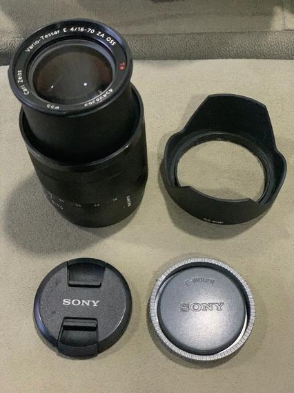 Lente Sony Vario-tessar T * E 16-70mm F/4 Za Oss + Frete