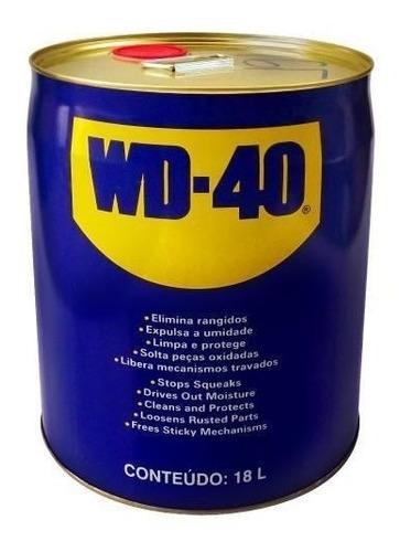 Lubrificante Líquido Multiuso 18 Litros Wd40