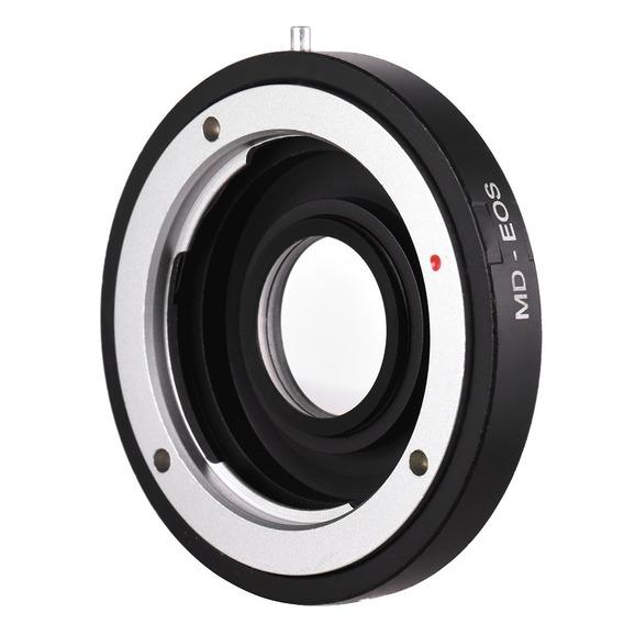 Anel Adaptador Lente Minolta Mc Md-eos Canon Foco Infinito