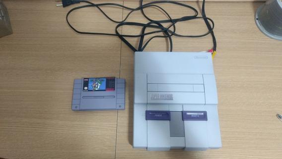 Super Nintendo Com Fita Original