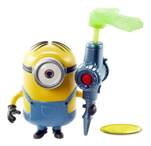 Figura Minions Travessos Stuart Mão Pegajosa - Mattel