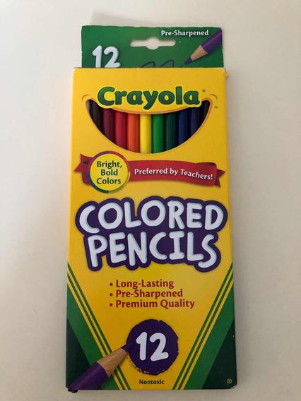 Lapices Crayola Colored Pencil X 12 Originales