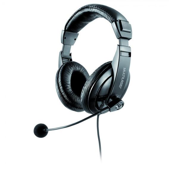Fone De Ouvido C/ Microfone Giant Ph245 - Multilaser