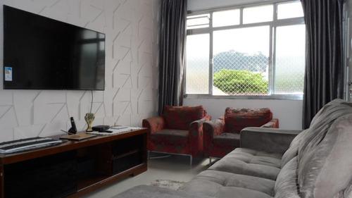 Apartamento Com 2 Dormitórios À Venda, 65 M² Por R$ 265.000,00 - Campo Grande - Santos/sp - Ap4770