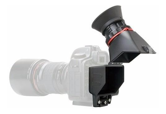 Visor Lcd Viewfinder C/dioptria Nikon Canon Sony 3,2 Poleg