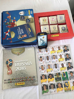 Álbum Copa 2018 Rússia Edição Limitada Prata Brasil Completo