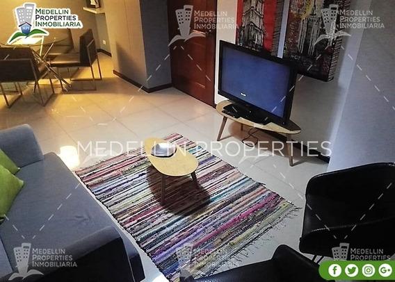 Arrendamiento Amoblados Por Meses Medellín Cód: 4614