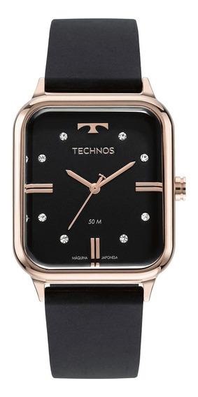Relógio De Pulso Feminino Technos Fashion Style Strass