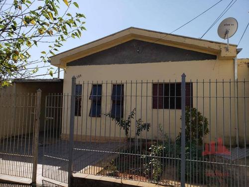 Casa Com 3 Dormitórios À Venda, 104 M² Por R$ 370.000 - Jardim Esmeralda - Santa Bárbara D'oeste/sp - Ca2716
