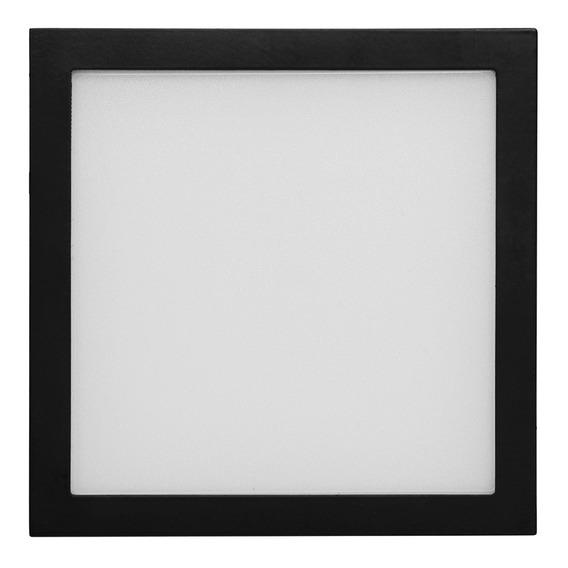 Luminario Led Sobreponer Cuadrado 8w Tl-2809.n65 Illux