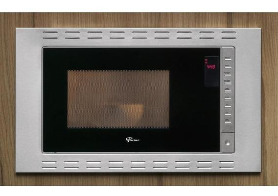 Micro-ondas De Embutir Fischer Fit Line 25l 25873 Inox 220v