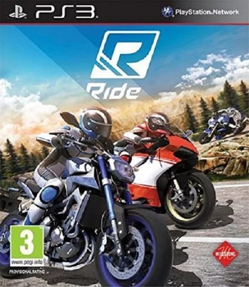 Ride Inglês Jogos Ps3 Pronta Entrega