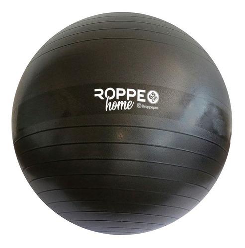 Imagem 1 de 2 de Bola De Pilates Home 65cm Roppe Preto