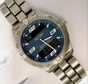 Breitling Aerospace Titanium 40mm , Blue Dial , Promocao!
