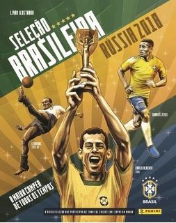 Álbum Capa Dura Seleção Brasileira - Completo