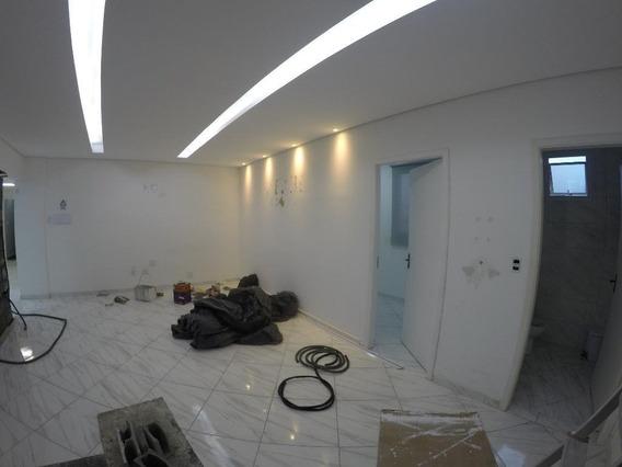 Sala Nova Com Divisória Para Alugar, 44 M² Por R$ 1.500/mês - Boqueirão - Praia Grande/sp - Sa0045