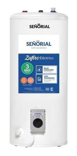 Imagen 1 de 2 de Termotanque Señorial Zafiro Electrico 95 Litros
