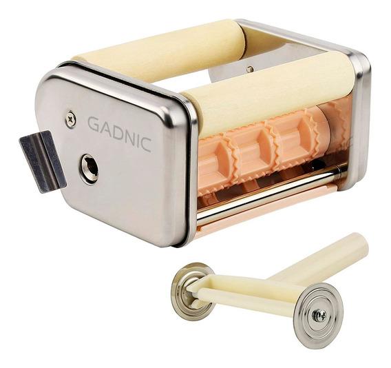 Fabrica Raviolera Universal Gadnic 3x3 + Cortante Pastas