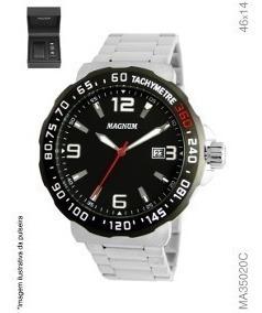 Relógio Magnum Masculino Ma35020c + Pulseira