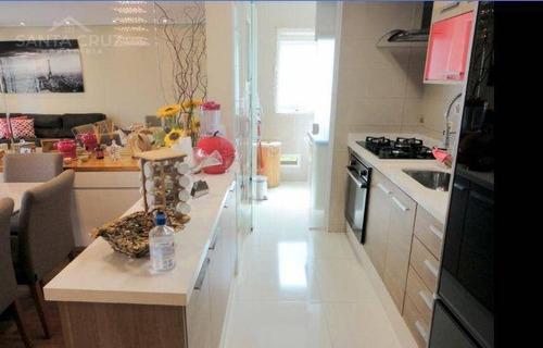 Imagem 1 de 29 de Apartamento Com 02 Dormitórios, 87 M² - Venda Por R$ 660.000 Ou Aluguel Por R$ 3.900/mês - Jardim Tupanci - Barueri/sp - Ap1651