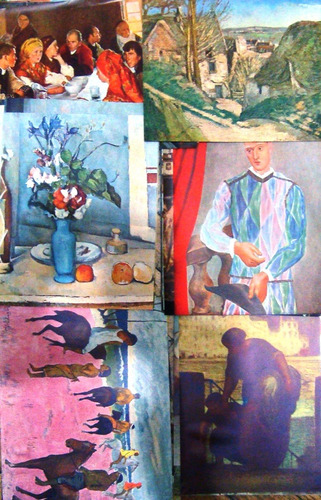 Arte Moderno 60 Laminas 1940 Color 20x25 Van Goh Degas Etc