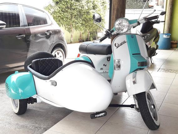Vespa 200 Cc 4t 2013 Com Sidecar
