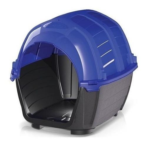 Casilla Perros N°3 70x57x57cm Alto Color Azul Mas Envio