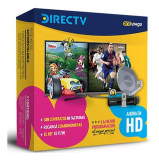 Kit Pre Pago Directv Hd Nuevo Envio Gratis Antena De 46cm