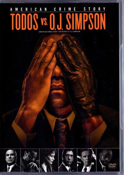 American Crime Story Temporada 1 Todos Vs O.j. Simpson Dvd