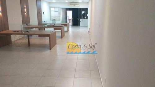 Imagem 1 de 30 de Loja Para Alugar, 321 M² Por R$ 8.000,00/mês - Centro - Santos/sp - Lo0021