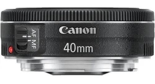 Lente Canon Ef 40mm F/2.8 Stm - Garantia + Nf