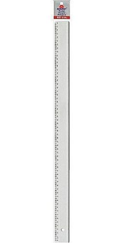 Imagem 1 de 1 de Regua Acrimet Em Poliestireno 60cm Cristal 516.0
