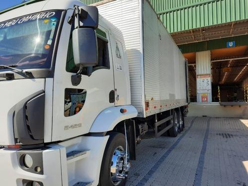 Cargo 2429 6x2 Bau 8,40 Com Plataforma Bx.km