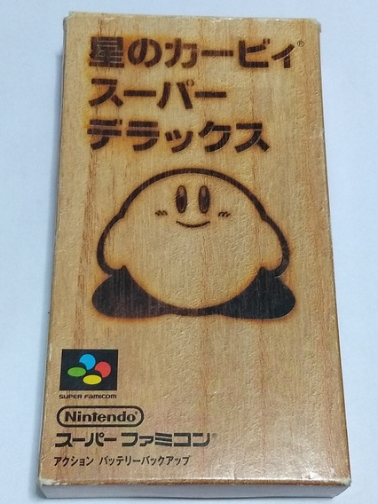 Star Kirby Super Famicom Snes Original