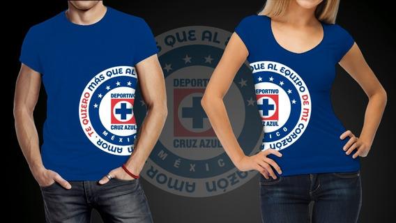 Playeras Para Pareja - Te Amo Más Que A Mi Equipo Cruz Azul