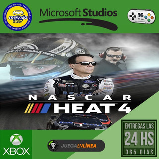 Nascar Heat 4 - Xbox One Modo Local + En Linea