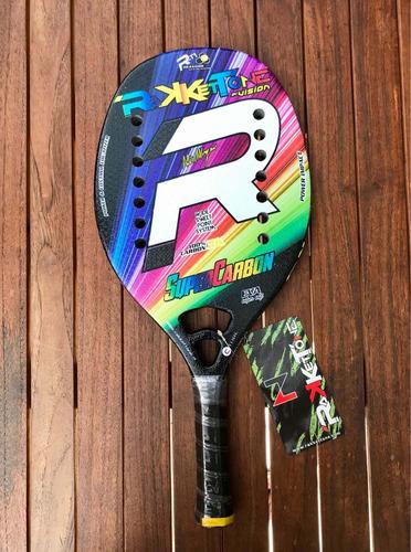 Raqueta De Beach Tennis Rakkettone Super Carbon 2020