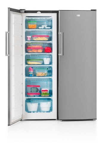 Heladera Vondom Acero Inox Con Freezer 580lts-cuotas