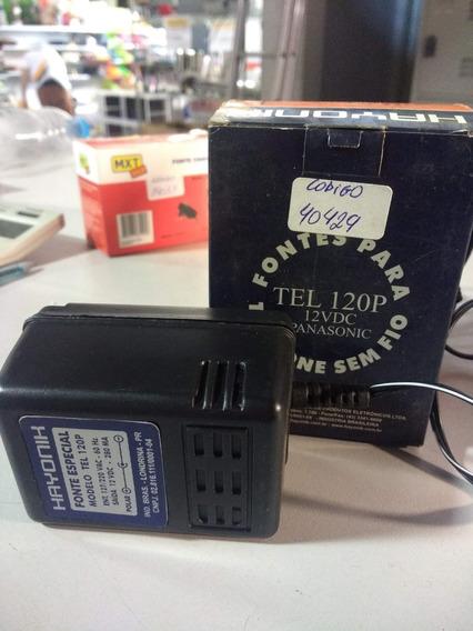 Fontes Para Telefone Sem Fio - Fonte Especial 12v 280ma