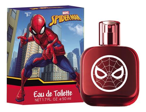 Perfume Para Chicos Original Disney Spiderman 50 Ml