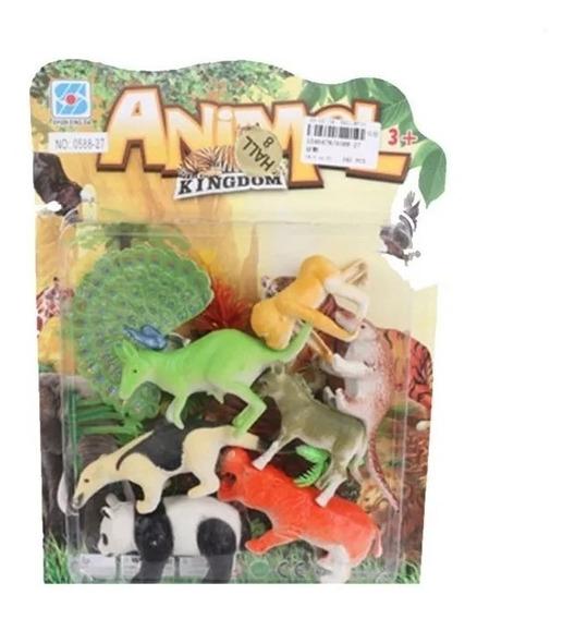 Set De Animales En Blister Grande Original