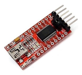 10conversor Usb Serial Rs232 Ftdi Ft232rl Ttl 5v 3v3 Arduino