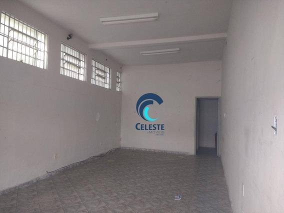 Salão Para Alugar, 50 M² - Centro - São José Dos Campos/sp - Sl0147
