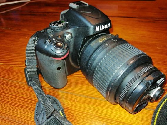 Nikon D5100 Con Lente Nikon Vr 18-55 Vx Kit